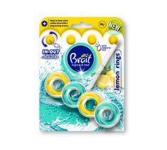 Brait kostka toaletowa 2-fazowa do WC Lemon Rings 40 g