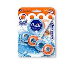Brait kostka toaletowa 2-fazowa do WC Ocean Rings 40 g