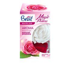 Brait Magic Flower dekoracyjny odświeżacz powietrza Beautiful Rose 75 ml