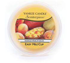 Yankee Candle – Scenterpiece Easy Melt Cup wosk do elektrycznego kominka Mango Peach Salsa (61 g)