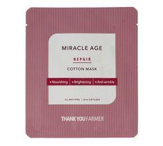 Thank You Farmer – True Miracle Age Maska w płacie (1 szt.)