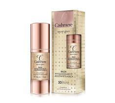 Cashmere Secret Glam baza pod makijaż wygładzająco-rozświetlająca 30 ml