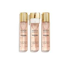 Chanel Coco Mademoiselle woda toaletowa spray 20ml z wymiennym wkładem 2x20ml (1 szt.)