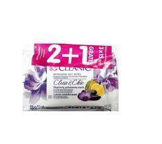 Cleanic Chusteczki odświeżające Clean & Chic do twarzy i rąk 2+1 gratis 1 op (3x15 szt)