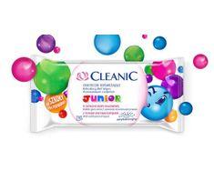 Cleanic Chusteczki odświeżające Junior do twarzy i rąk 1 op - 15 szt