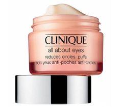 Clinique All About Eyes Krem-żel redukujący sińce pod oczami, opuchliznę oraz linie i drobne zmarszczki 15 ml