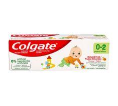 Colgate Pasta do zębów dla dzieci Naturalnie Owocowy Smak (0-2 lat) 50 ml