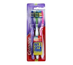 Colgate Zig Zag szczoteczka do zębów Medium 3szt