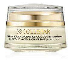 Collistar Attivi Puri Glycolic Acid Rich Cream Perfect Skin przeciwstarzeniowy nawilżający krem do twarzy z kwasem glikolowym 50ml