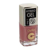 Delia Cosmetics Coral Hybrid Gel Emalia do paznokci nr 44  11ml