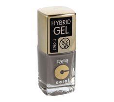 Delia Cosmetics Coral Hybrid Gel Emalia do paznokci nr 45  11ml