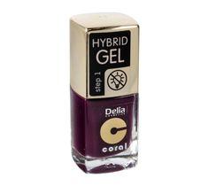 Delia Cosmetics Coral Hybrid Gel Emalia do paznokci nr 48  11ml