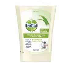 Dettol Aloe Vera bezdotykowe mydło w płynie - wkład 250ml