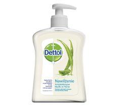Dettol Nawilżenie antybakteryjne mydło w płynie  - mydło z pompką 250ml