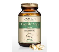 Doctor Life Caprylic Acid Special kwas kaprylowy 800mg suplement diety 60 kapsułek