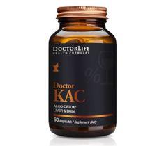 Doctor Life Doctor Kac Alco-Detox suplement diety 60 kapsułek