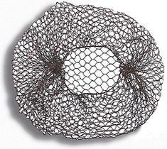 Donegal siatka do włosów gruba czarna rozmiar uniwersalny (5902/1) 1 szt.