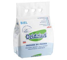 Dzidziuś Proszek do prania pieluszek bielizny odzieży niemowlęcej biel 3 kg