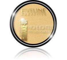 Eveline Art Professional Make-up – rozświetlający puder prasowany do twarzy Golden (10 ml)