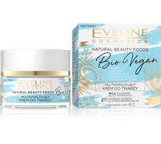 Eveline Natural Beauty Foods (aktywnie multinawilżający krem na dzień i noc Bio Vegan 50 ml)