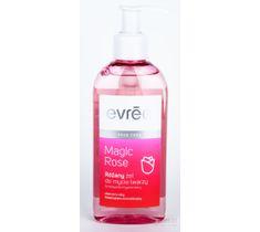 Evree Magic Rose Żel do mycia twarzy różany z pompką 200 ml