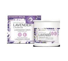 Floslek Lavender lawendowe pola Lawendowy krem odżywczy na dzień i na noc - wkład (50 ml)
