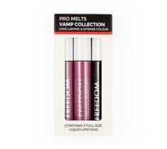 Freedom Pro Melts Vamp Collection zestaw pomadek do ust 3 x 7.5 g