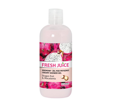 Fresh Juice żel pod prysznic kremowy smoczy owoc i macadamia (500 ml)
