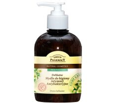 Green Pharmacy drzewo herbaciane mydło do higieny intymnej antybakteryjne 370 ml