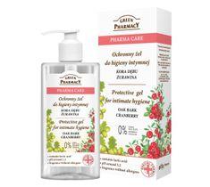 Green Pharmacy Pharma Care Kora Dębu-Żurawina Żel do higieny intymnej ochronny 300 ml