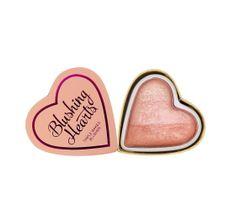 I Heart Revolution Blushing Hearts Róż Peachy Pink Kisses,  10g