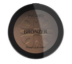 Ingrid HD Beauty Puder brązujący do twarzy 25 g