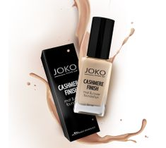 Joko Cashmere Finish Mat & Cover Foundation podkład do twarzy J153 Golden beige 30 ml
