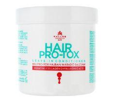 Kallos Hair Pro-Tox Leave - In Conditioner odżywka do włosów z keratyną kolagenem i kwasem hialuronowym 250ml