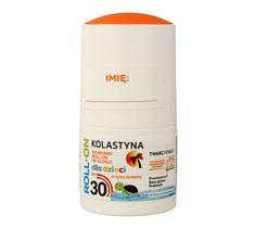 Kolastyna Opalanie Ochronny Roll-on na słońce dla dzieci SPF30 50 ml
