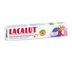 Lacalut pasta do zębów dla dzieci 0-4 lat 50 ml