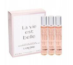 Lancome La Vie Est Belle L'Eau de Parfum zestaw woda perfumowana Refill 3 x 18 ml