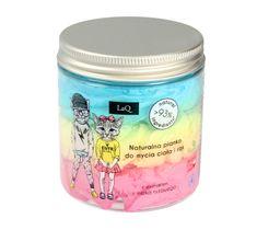 LaQ naturalna pianka do mycia ciała i rąk dla dzieci (250 ml)