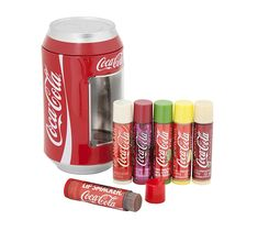 Lip Smacker Flavoured Lip Balm Collection błyszczyki do ust Coca-Cola Mix  puszka 6x4g