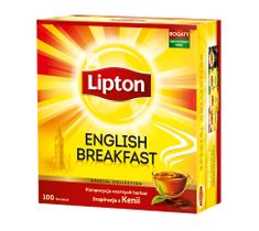 Lipton English Breakfast herbata czarna 50 torebek 100g