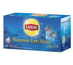 Lipton Russian Earl Grey herbata czarna aromatyzowana 20 torebek 40g