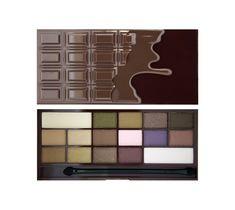 Makeup Revolution I Heart Chocolate – paleta cieni do powiek (22 g)