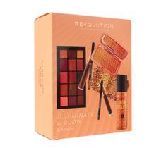 Makeup Revolution Illuminate & Glow Zestaw kosmetyków do makijażu Bronze (1 szt.)