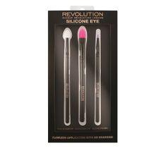 Makeup Revolution Silicone Contour - zestaw pędzli silikonowych do cieni (1 op.)