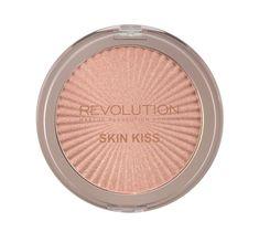Makeup Revolution Skin Kiss - rozświetlacz do twarzy Peach Kiss (14 g)