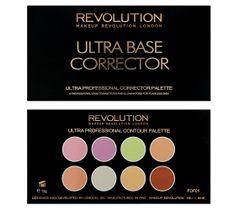 Makeup Revolution Ultra Base Corrector Palette - zestaw korektorów pod oczy i do twarzy (13 g)