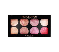 Makeup Revolution Ultra Blush Palette 8 - zestaw róży do policzków Blush Queen (13 g)