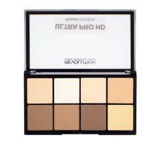 Makeup Revolution Ultra Pro HD Powder Contour - zestaw pudrów prasowanych do twarzy Fair (20 g)