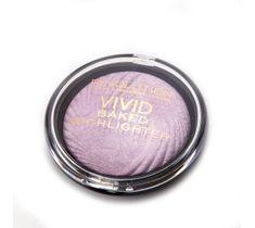 Makeup Revolution Vivid Baked - rozświetlacz do twarzy Pink Lights (7.5 g)