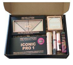 Makeup Revolution Zestaw prezentowy do makijażu - box nr 1 (1 szt.)